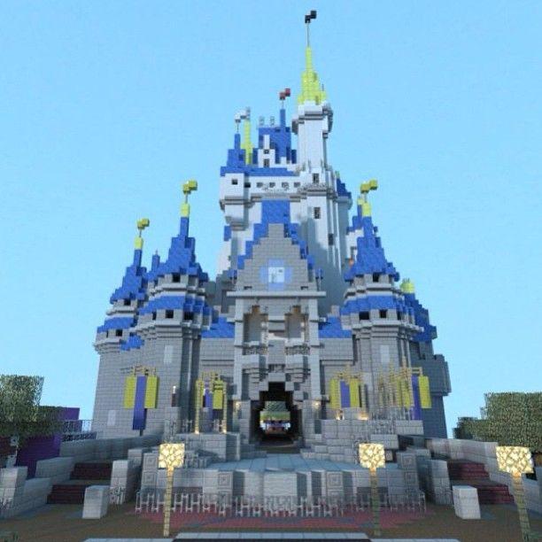 Disney Minecraft Castle