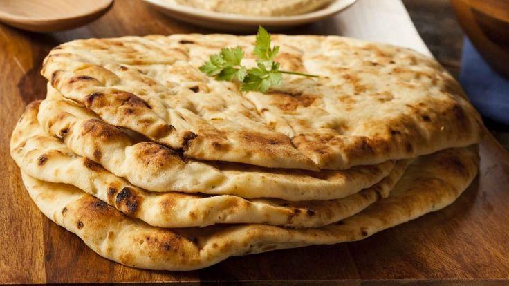 Pane Naan indiano con livievito istantaneo, ricetta pane indiano, cibo indiano