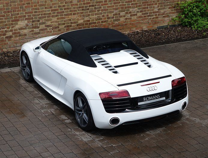2013 (13) Audi R8 V10 Spyder for sale | Ibis White ...