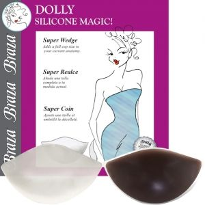 Silicone Dolly Bra Insert Pads will add cleavage, shaping and size