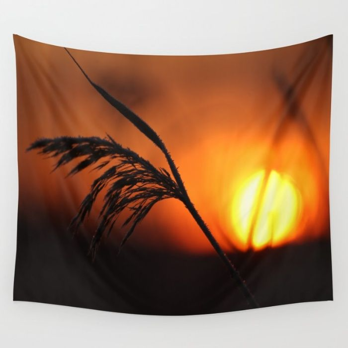 Good Morning Sun  Wall Tapestry
