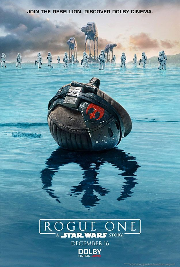 El nuevo cartel de Rogue One: Una Historia de Star Wars mola