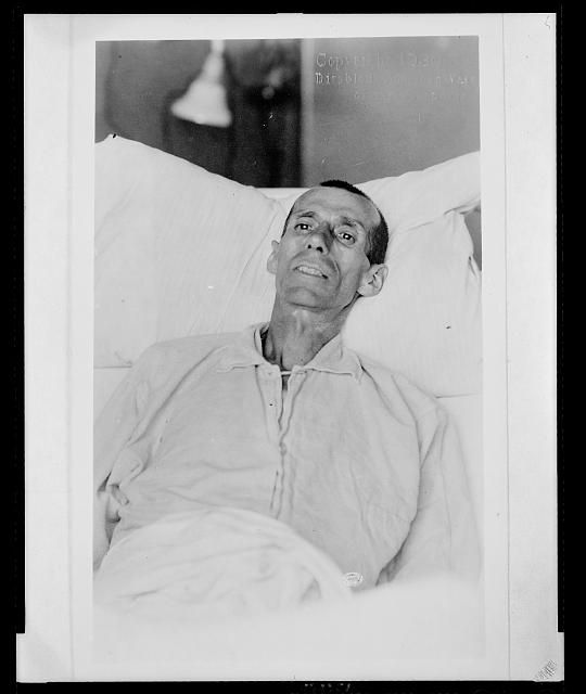 Disabled veteran, Edward Hines Memorial Hospital, Chicago