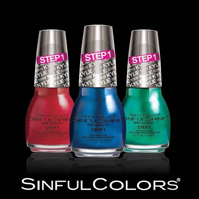 34 best King Kylie Collection SinfulColors SinfulShine 2-Step images ...