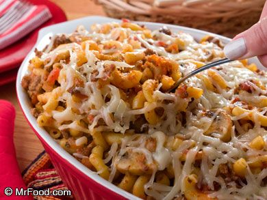 Baked Goulash - Goulash is a hearty, cheesy favorite that's especially wonderful during the winter!