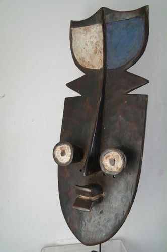 African Grebo Kru war mask from Cote D'Ivoire