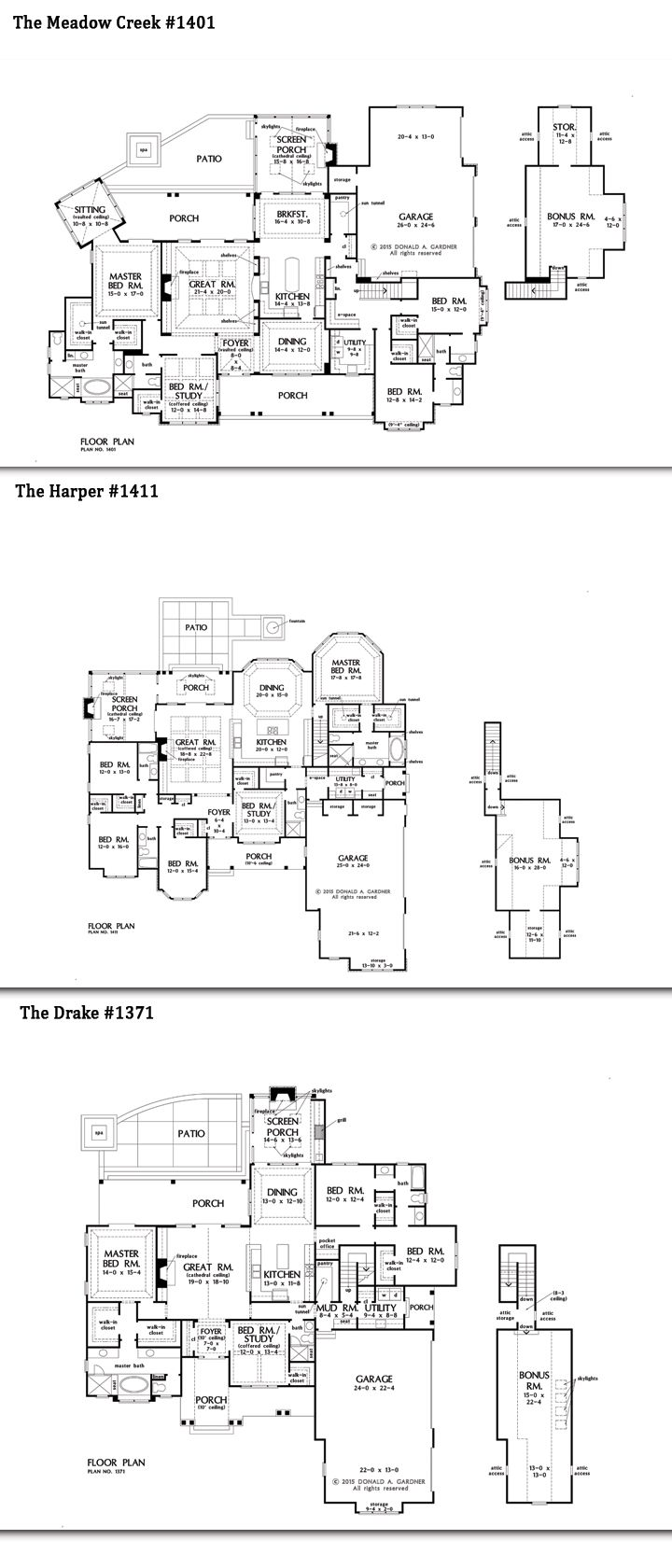 207 best one story home plans images on pinterest dream house