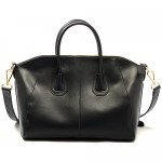 Black Robin Leather Handbag $269.95 FREE SHIPPING WITHIN AUSTRALIA available online at sterlingandhyde.com.au