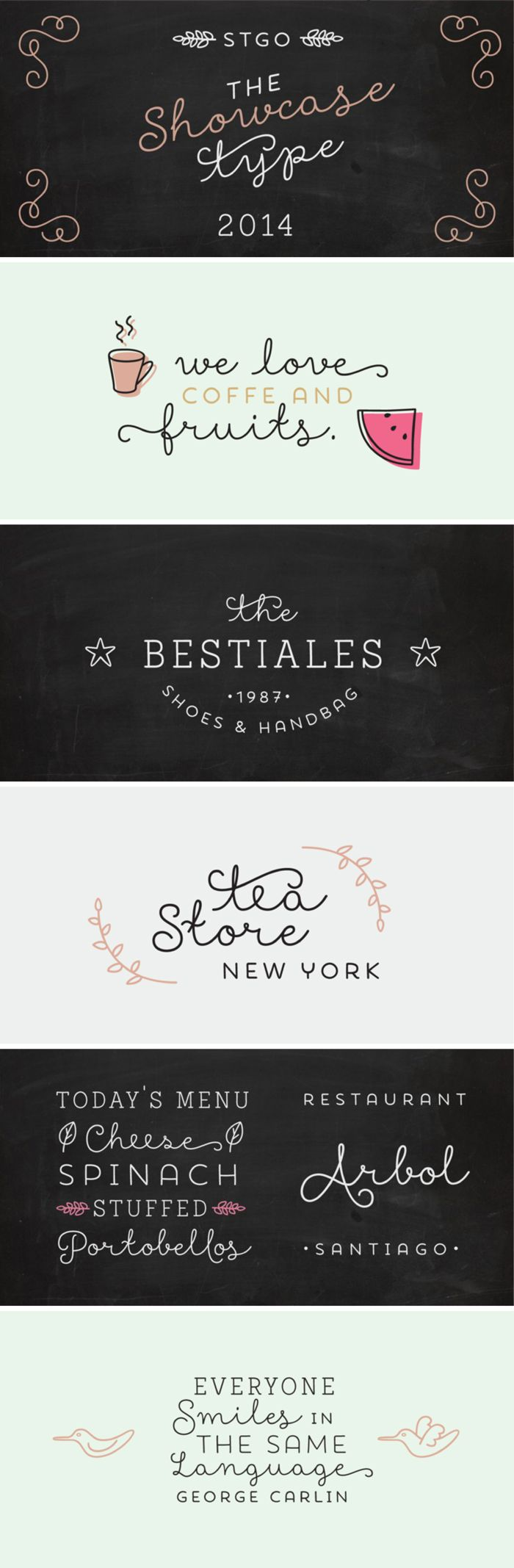 Showcase Font by Latinotype [Friday Favorites] || Ciera Design