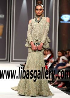 Outstanding Pakistani Wedding Peplum Dress for Modern Brides - New dresses made for Wedding the night ( shop reception dresses) www.libasgallery.com Online Shopping #UK #USA #Canada #Australia #France #Germany #SaudiArabia #Bahrain #Kuwait #Norway #Sweden #NewZealand #Austria #Switzerland #Denmark #Ireland #Mauritius #Netherland #extravaganza #FashionWeek #Bride #Gown #Lehenga #OccasionDress #hautecouture #worldwideshipping #sale 💗 #newcollection #Wedding #bestlook #bestdress #bestoutfit