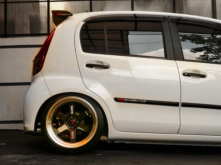 Daihatsu All New Sirion on Rays TE37V