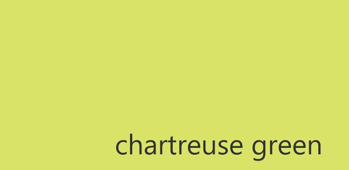 "chartreuse green   ""La Duchessa"" di Caroline Blackwood ..."