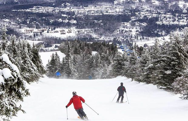 The Best Winter Ski and Snowboard Destinations: Mount Snow | West Dover, Vermont