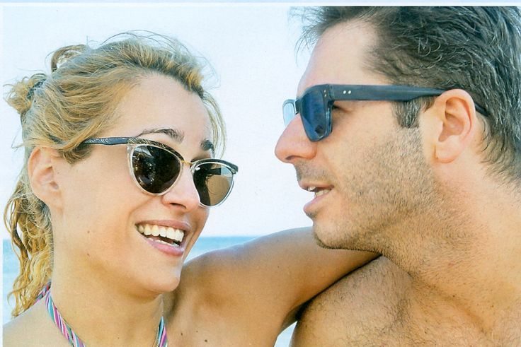Tzeni Botsi in Original Vintage Sunglasses