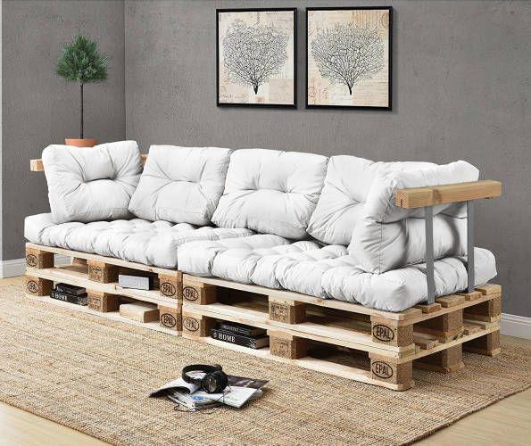 1000 idee su divano pallet su pinterest mobili per for Divani con bancali