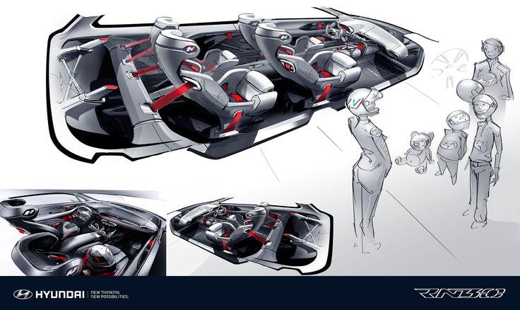 Hyundai RN30 concept 2.0L 터보 엔진 최고