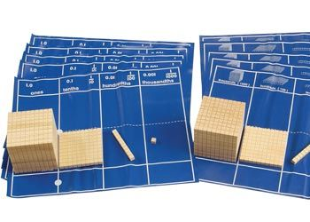 Base Ten Mat – Set of 10