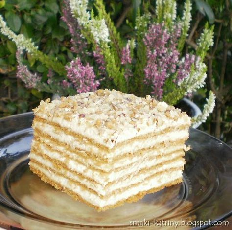 Witam Kochani    Dziś przychodzę do Was z przewspaniałym ciastem, które wywodzi…