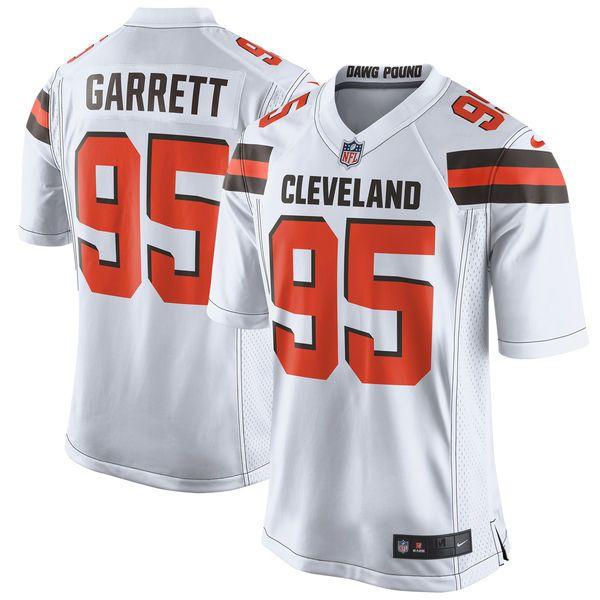 Myles Garrett Cleveland Browns Nike 2017 Draft Pick Game Jersey - White - $99.99