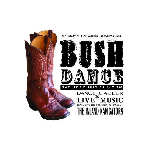 Rotary bush dance promo tile
