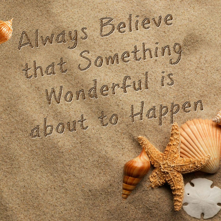 Amazing Believe In Wonderful. Quotes For ChildrenWedding ProgramsGreat ...