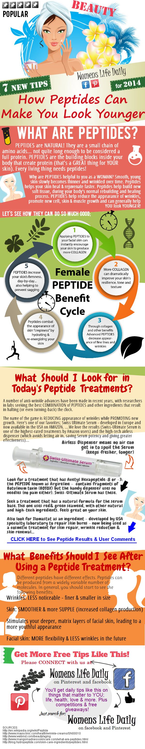 7 Health and Anti-Wrinkle Benefits of Peptides for Women, from Womens Life Daily