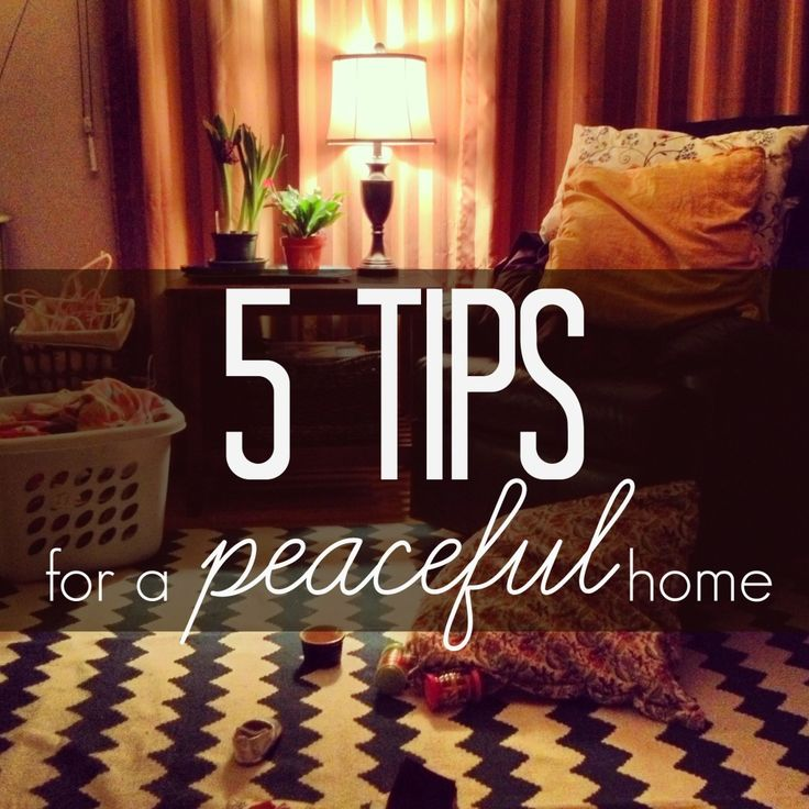 5 Tips for a Peaceful Home at Natural Parents Network