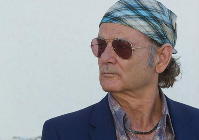 Bill Murray in Rock The Kasbah. Not his best look though..,