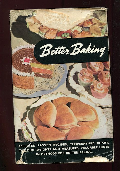 Better Baking vintage New Zealand publication from Imperial Chemical Industries