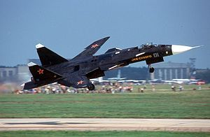 25 September 1997 First flight #flighttest of the Sukhoi Su-47 Berkut technology demonstrator