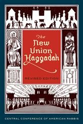 The Classical Reform revised edition of The New Union Haggadah is formal and elegant as it brings to the seder a message of universalism told in elevated language. #Passover