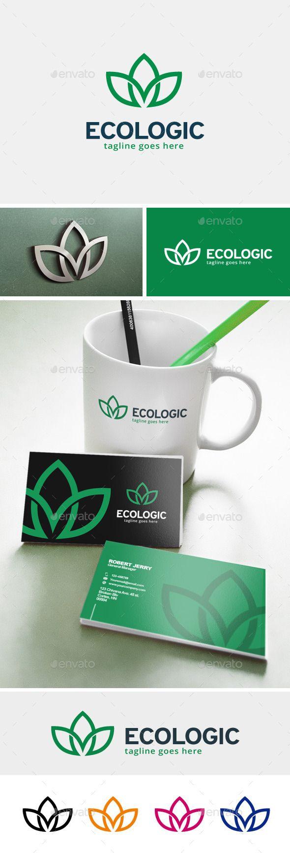 Ecologic - Logo Design Template Vector #logotype Download it here: http://graphicriver.net/item/ecologic-logo/12109755?s_rank=638?ref=nesto