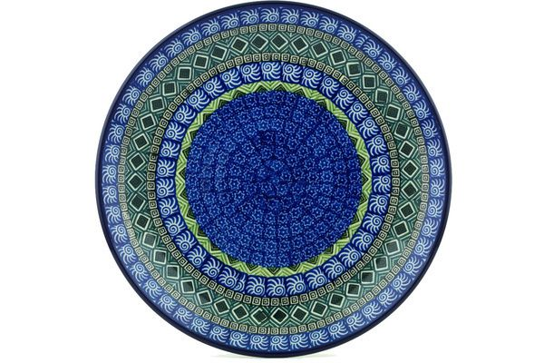 Polish Pottery 10-inch Plate | Boleslawiec Stoneware | Polmedia H5221H