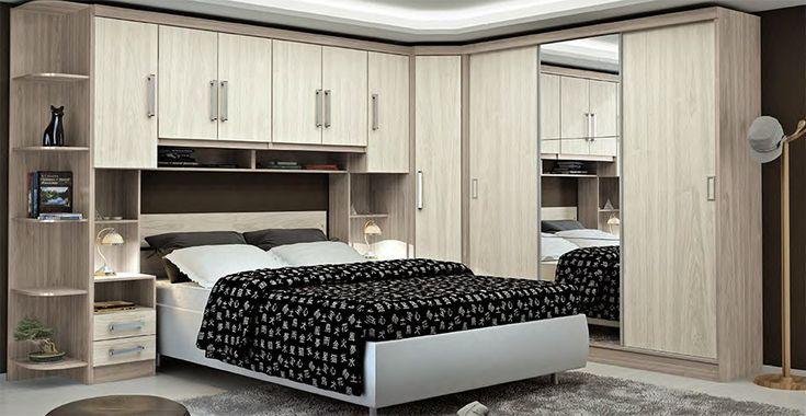 Moveis planejados para quarto de casal pequeno pesquisa google quartos pinterest moveis - Mundo armario ...