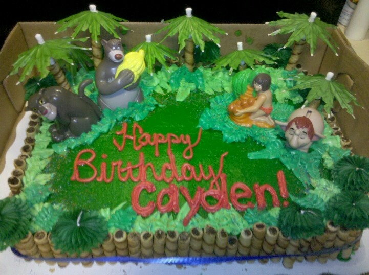Jungle book cake My Completed Projects Pinterest ...