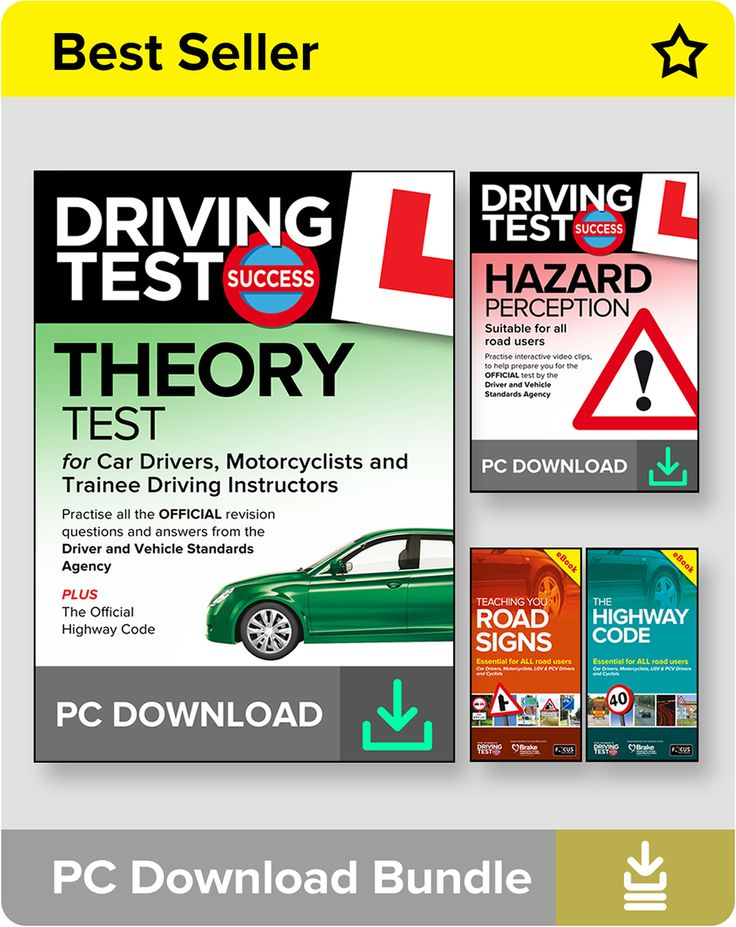 Theory Test PC Download Bundle for Learner Car Drivers