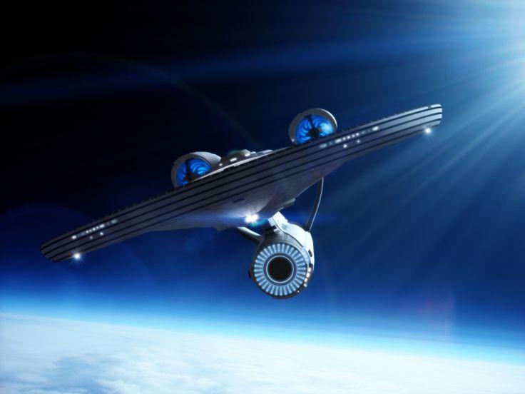 starship images | The starship Enterprise by *davemetlesits on deviantART