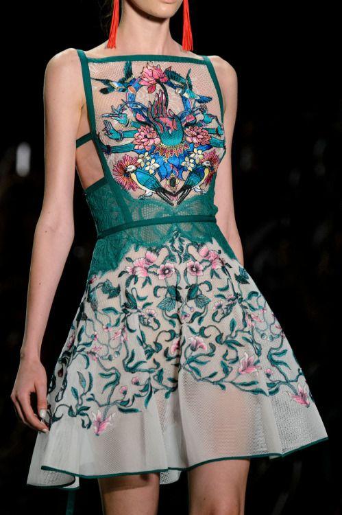 "modischste: "" Tadashi Shoji at New York Fashion Week Spring 2017 """