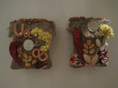 Украинский сувенир Магнит-оберег Мешочек