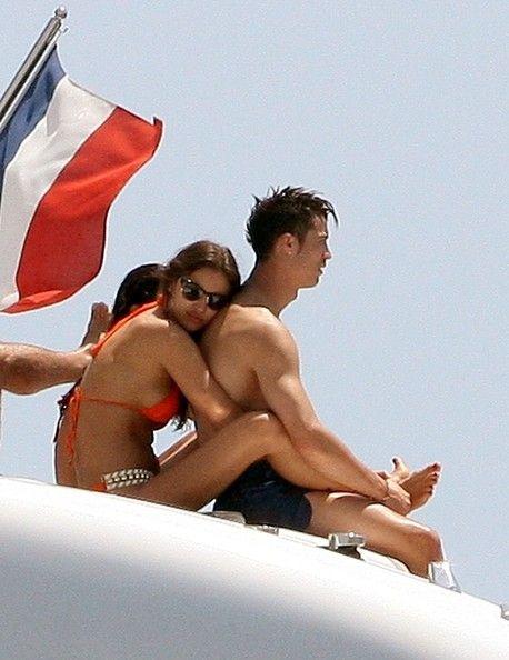 Cristiano Ronaldo and Irina Shayk Photo - Irina Shayk and Cristiano Ronaldo on a Yacht