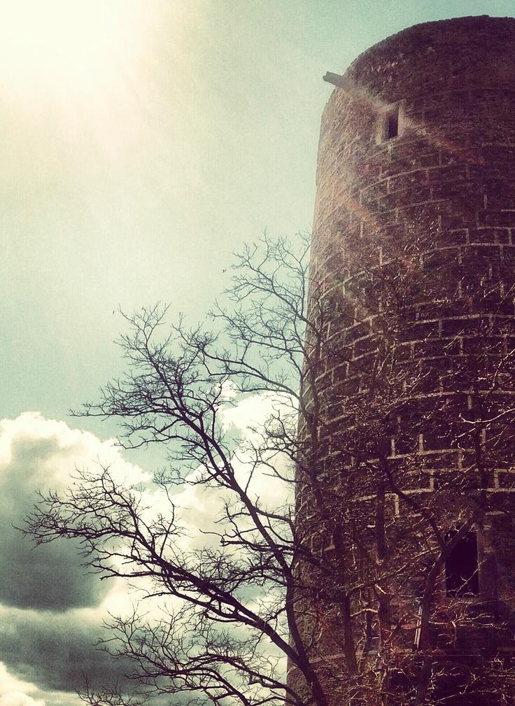 Žebrák Tower (CZ) (žebrák = beggar)