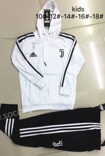 7c9e14e97 2018-19 Juventus White With Hat Kids Youth Tracksuit Uniform-815 ...