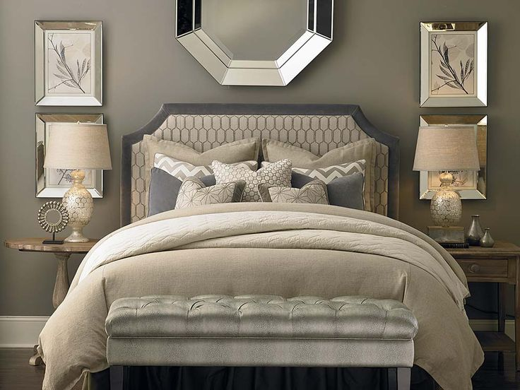 Custom Uph Beds Florence Clipped Corner Headboard