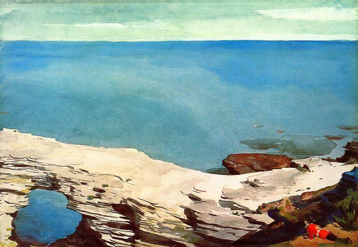 Winslow Homer, Natural Bridge, Bahamas, 1898