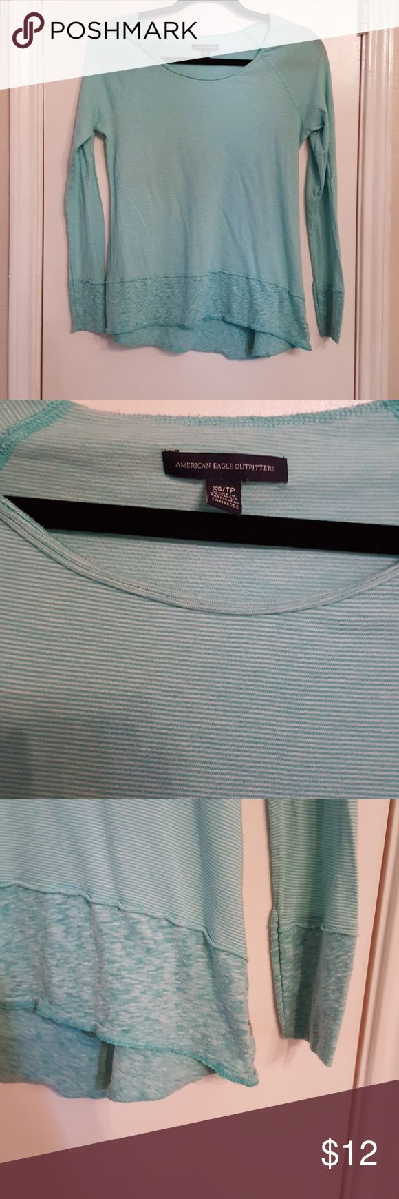 American eagle shirt size xs In good condition American Eagle Outfitters Tops Tees - Long Sleeve