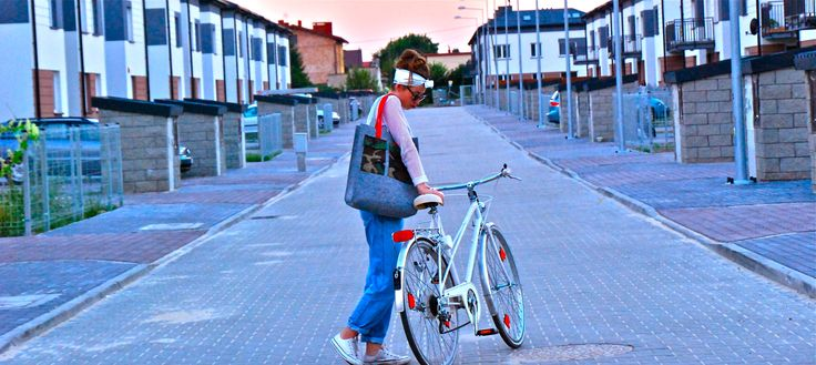 """Not So So "" #bag #bike"
