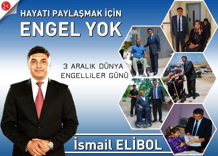 Elibol'un Engelliler Günü mesajı
