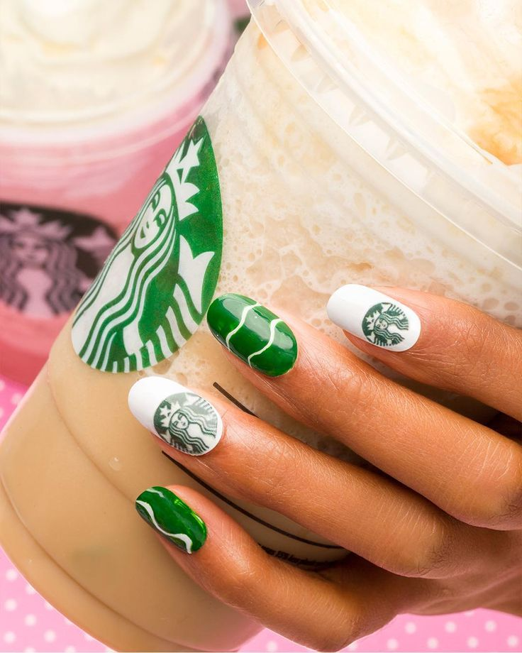 Best 25+ Starbucks Nails Ideas On Pinterest