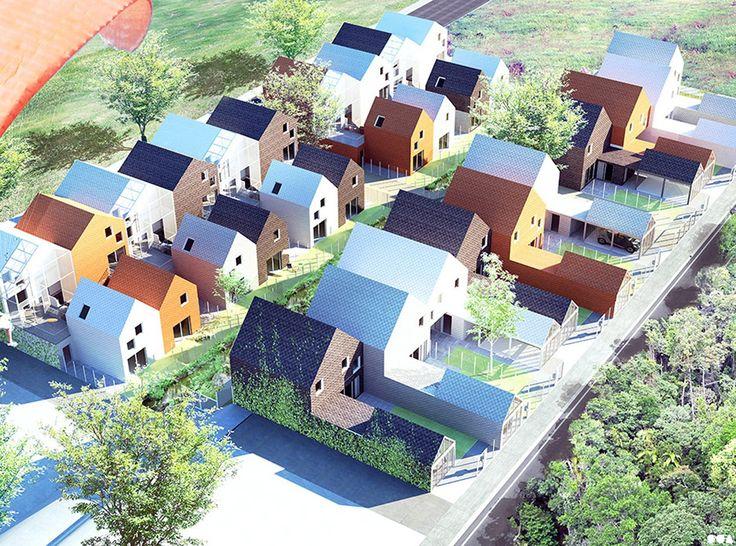 SOA Architectes Paris > Projets > LA FORÊT DE BIZY VERNON