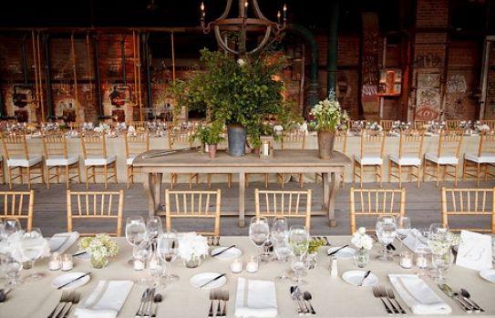 "Evergreen Brick Works - indoor & outdoor venues for a ""green"" wedding"